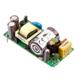 ספק כוח AC/DC למעגל מודפס - 15W - 85V~264V ⇒ 24V / 630MA XP POWER
