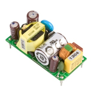 ספק כוח AC/DC למעגל מודפס - 15W - 85V~264V ⇒ 12V / 1.25A XP POWER