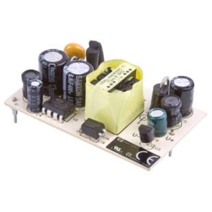 ספק כוח AC/DC למעגל מודפס - 4.8W - 90V~264V ⇒ 12V / 400MA XP POWER