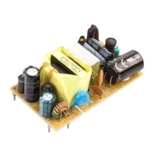 ספק כוח AC/DC למעגל מודפס - 15W - 90V~264V ⇒ 24V / 630MA XP POWER