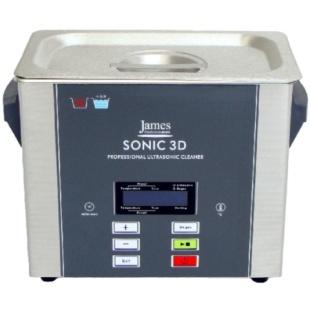 אמבטייה לניקוי אולטראסוני - 3 ליטר - SONIC 3D JAMES PRODUCTS
