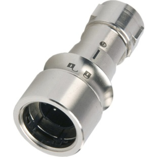 מחבר תעשייתי PXM6010 - זכר ללחיצה לכבל - פין זכר - 22 מגעים BULGIN