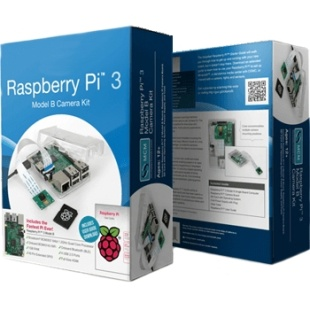 קיט פיתוח - RASPBERRY PI 3 - MODEL B - CAMERA KIT RASPBERRY PI