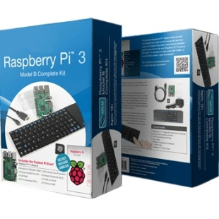 קיט פיתוח - RASPBERRY PI 3 - MODEL B - PREMIUM KIT RASPBERRY PI