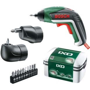 מברגה נטענת 3.6V קומפקטית - BOSCH IXO V FULL KIT BOSCH