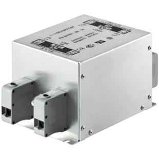 מסנן EMC / RFI עם חיבור לפאנל - סדרה 16A - FN2410H SCHAFFNER