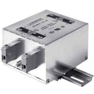 מסנן EMC / RFI עם חיבור לפס דין - סדרה 25A - FN2412H SCHAFFNER