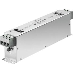 מסנן EMC / RFI תלת פאזי עם חיבור לפאנל - סדרה 100A - FN3258 SCHAFFNER