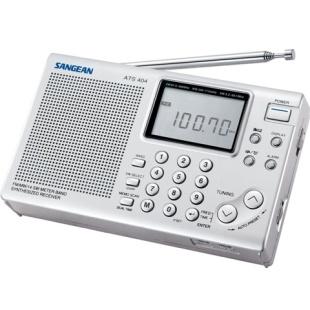 רדיו נייד דיגיטלי רב ערוצי - SANGEAN ATS-404 SANGEAN