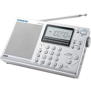 רדיו נייד דיגיטלי רב-ערוצי - SANGEAN ATS-505 SANGEAN