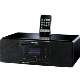 רדיו אינטרנט דיגיטלי עם תחנת עגינה לאייפון SANGEAN DDR-63 - 4/4S SANGEAN