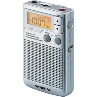 רדיו טרנזיסטור / אוזניות נייד דיגיטלי - SANGEAN DT-250 SANGEAN