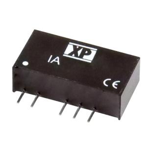 ממיר מתח - 1W , 10.8VDC ~ 13.2VDC ⇒ ±5VDC , 100MA XP POWER