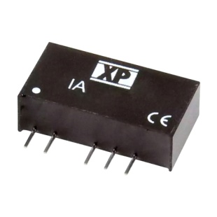 ממיר מתח - 1W , 43.2VDC ~ 52.8VDC ⇒ ±24VDC , 21MA XP POWER