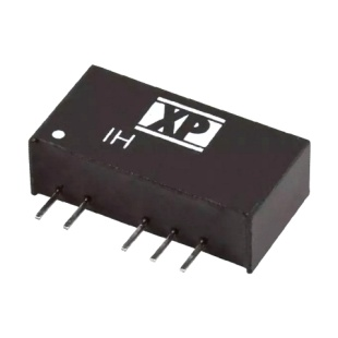 ממיר מתח - 2W , 4.5VDC ~ 5.5VDC ⇒ ±15VDC , 66MA XP POWER