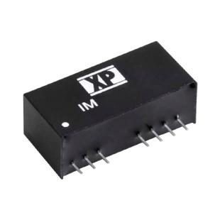 ממיר מתח - 2W , 18VDC ~ 75VDC ⇒ ±15VDC , 65MA XP POWER