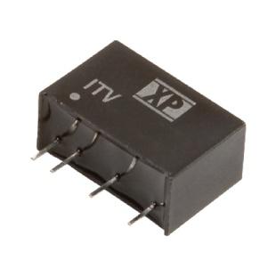 ממיר מתח - 1W , 4.5VDC ~ 5.5VDC ⇒ ±5VDC , 100MA XP POWER