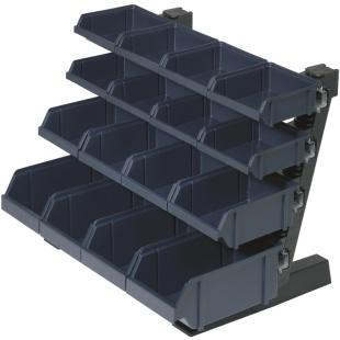 מתקן תאי אחסון לשולחן העבודה - 16 תאים RAACO