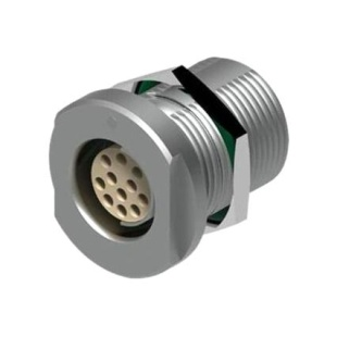 מחבר FISCHER - נקבה לפנל - 9 מגעים - DEU 102 A059-130E FISCHER CONNECTORS