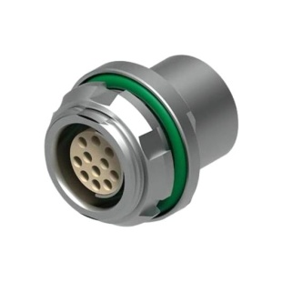 מחבר FISCHER - נקבה לפנל - 2 מגעים - DBPU 102 A051-130 FISCHER CONNECTORS