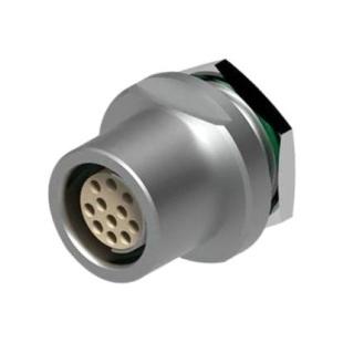 מחבר FISCHER - נקבה לפנל - 12 מגעים - DBEU 1031-A012-130 FISCHER CONNECTORS