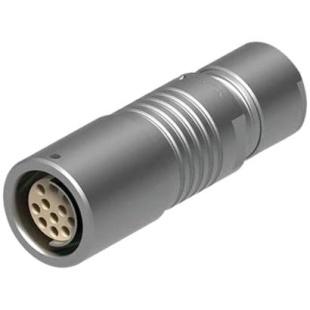 מחבר FISCHER - נקבה לכבל - 7 מגעים - +K 105 A054-130 FISCHER CONNECTORS