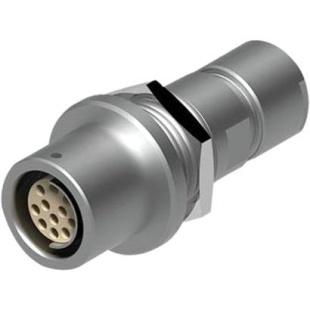 מחבר FISCHER - נקבה לפנל - 7 מגעים - +DKE 105 A054-130 FISCHER CONNECTORS