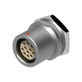 מחבר FISCHER - נקבה לפנל - 8 מגעים - DB 105 A067-130 FISCHER CONNECTORS