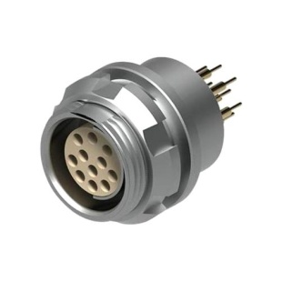 מחבר FISCHER - נקבה לפנל - 4 מגעים - DBP 105 A053-139 FISCHER CONNECTORS