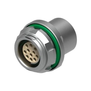 מחבר FISCHER - נקבה לפנל - 15 מגעים - DBPE 105 A058-130 FISCHER CONNECTORS