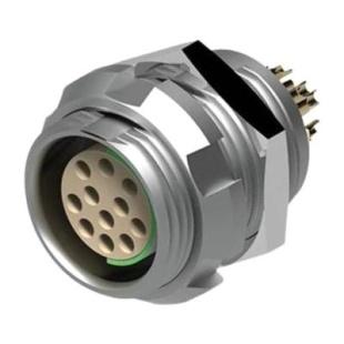 מחבר FISCHER - נקבה לפנל - 27 מגעים - DGP 105 A102-130 FISCHER CONNECTORS