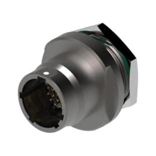 מחבר FISCHER - נקבה לפנל - 8 מגעים - UR03W11 F008S BK1 E1NB FISCHER CONNECTORS