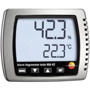 מד טמפרטורה ולחות דיגיטלי - TESTO 608-H2 HYGROMETER TESTO