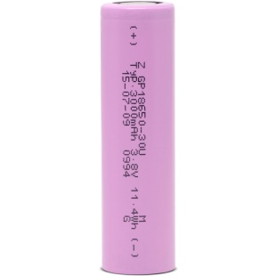 סוללת ליתיום נטענת - GP 18650 - 3.7V / 3AH GP BATTERIES