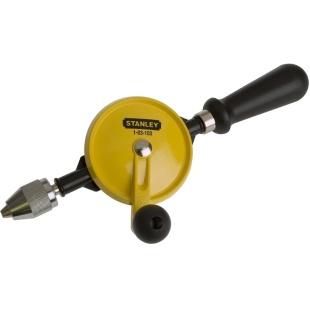 מקדחה ידנית מקצועית עם ידית מפלסטיק - STANLEY 1-03-103 STANLEY