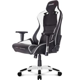 כסא לגיימרים - AKRACING , PRO X , BLACK / WHITE AK RACING