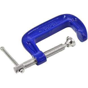 מלחצי קליבה C כחולות - מפתח 100MM ROLSON TOOLS