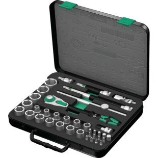 סט מפתח רצ'ט מקצועי ''1/2 - 37 יחידות - WERA 8100 SC 2 WERA