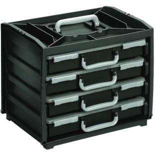 מערכת ניידת לאחסון רכיבים - 375X310X265MM - ATHOME HANDYBOX RAACO