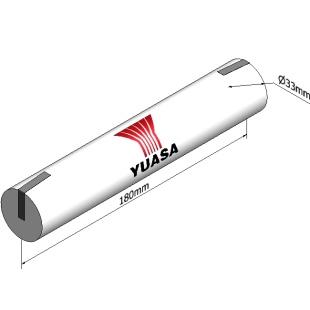 סוללה תעשייתית נטענת - YUASA 3DH4-0T4 - 3.6V 4AH YUASA