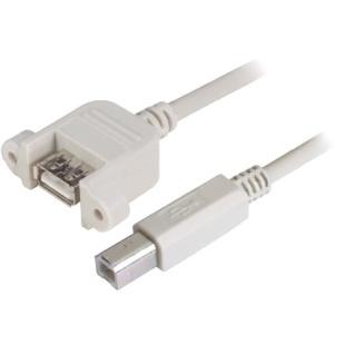 כבל 300MM - B(M) ~ A(F-P/M) - USB 2.0 L-COM