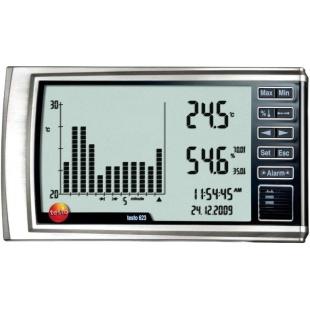 מד טמפרטורה ולחות דיגיטלי - TESTO 623 HYGROMETER TESTO