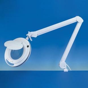זכוכית מגדלת שולחנית עם תאורה - PRO LED III - הגדלה X3 / X5 LIGHTCRAFT