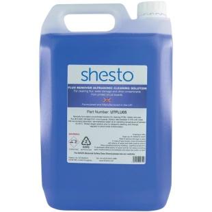 נוזל לניקוי אולטראסוני - FLUX REMOVER - בקבוק 5 ליטר SHESTO