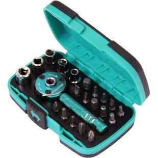 ידית ראצ'ט מודולרית עם סט ביטים ובוקסות - PROSKIT SD-2319M PROSKIT
