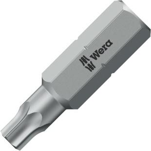 ביט למברגה - ראש כוכב - WERA 867/1 Z - TX25 X 25MM WERA