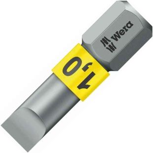 ביט למברגה - ראש שטוח - WERA 800/1 BTZ - 1MM X 5.5MM X 25MM WERA