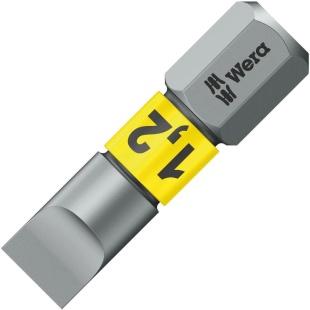 ביט למברגה - ראש שטוח - WERA 800/1 BTZ - 1.2MM X 6.5MM X 25MM WERA