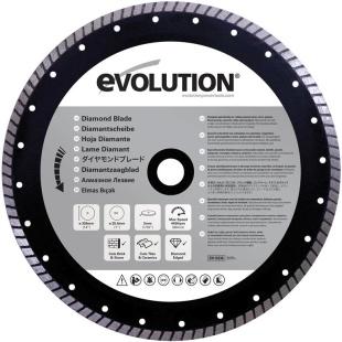 להב מסור - EVOLUTION RAGE DIAMOND 355MM EVOLUTION