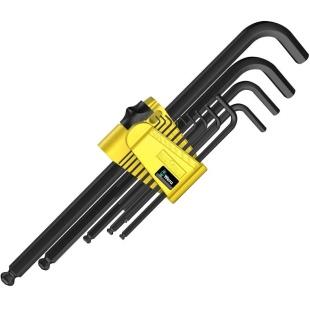 סט מפתחות אלן כדורי אינצ'י - WERA 950/13 HEX PLUS IM 1 WERA